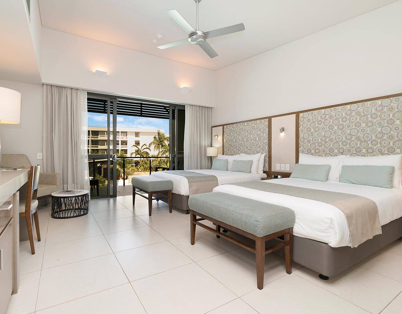Resort Room with 2 Queen Beds | Hotel & Casino Resort | Darwin, Australia