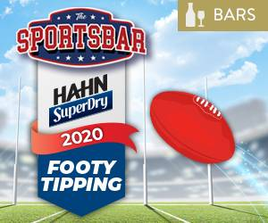 Hahn SuperDry Footy Tipping | Bar Offer | Mindil Beach Casino Resort