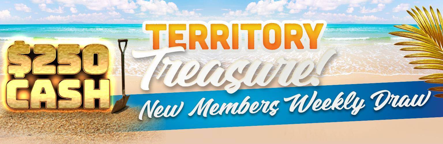 Territory Treasure New Members Draw | Promotions & Events | Mindil Beach Casino Resort