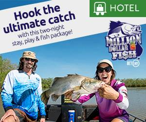 Million Dollar Fish package | Hotel Offer | Mindil Beach Casino Resort