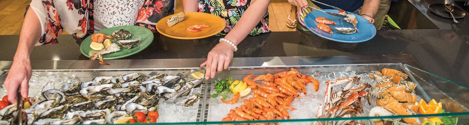 Seafood Buffet | Ocean-view dining